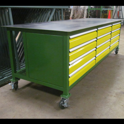 12-Drawer Workbench