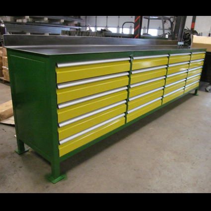 20-Drawer Workbench